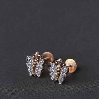 The Social Butterfly Studs
