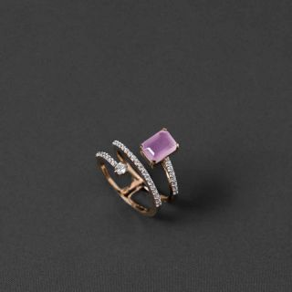 The Shades of purple Ring